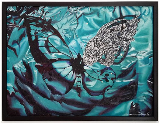 Butterfly III, 2015 / 45cm x 61cm / oil on canvas