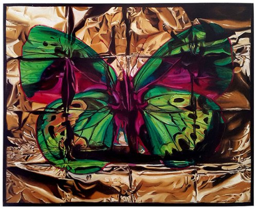 Butterfly II, 2015 / 102cm x 127cm / oil on canvas