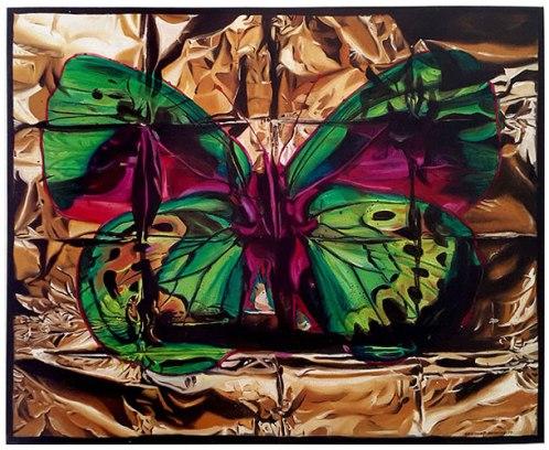 Butterfly II, 2015 / 102cm x 127cm / oil on canvas