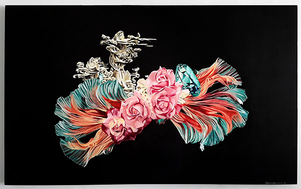 Zen, 2015 / 86cm x 122cm / oil on canvas