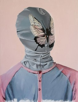 Lepidopterist, 2009 /40 cm x 53 / acrylic on canvas