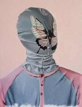 Lepidopterist, 2009 /40 cm x 53 / acrylic on canvas