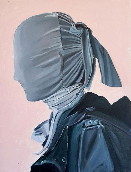 Profile, 2009 / 40 cm x 53 cm / acrylic on canvas