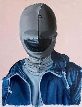 Smile, 2009 / 40 cm x 53 cm / acrylic on canvas